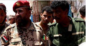 قوات الدعم والإسناد تتدخل لرفع مخلفات الأمطار الغزيرة بالشيخ اسحاق بعدن