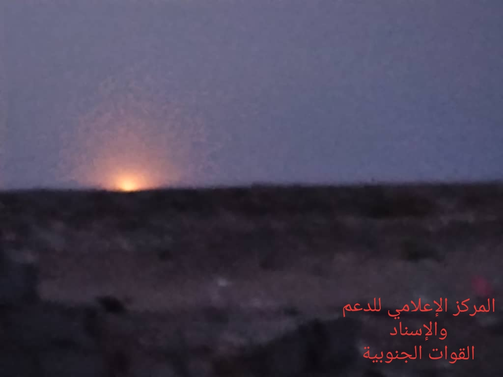 إصابة أحد أفراد قوات الدعم والإسناد بقصف مليشيا الإخوان بأبين