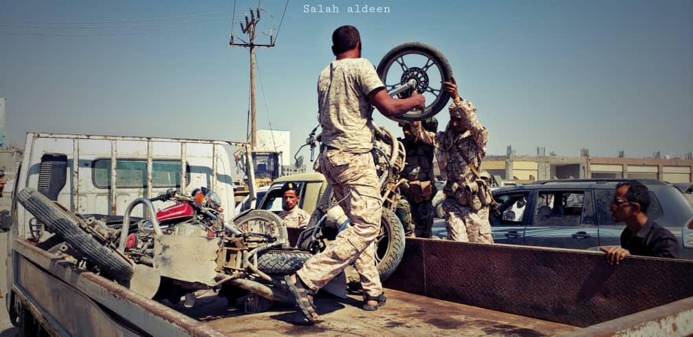 لليوم الثاني على التوالي..  قوات الدعم والإسناد تواصل حملاتها في مديريات عدن