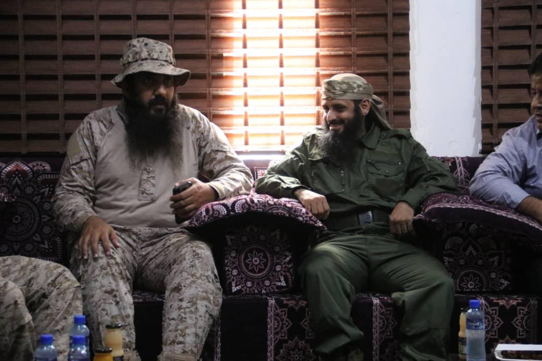 """قائد قوات الدعم والإسناد يزور جزيرة """"ميون"""" ويطلع على وضعها الأمني"""