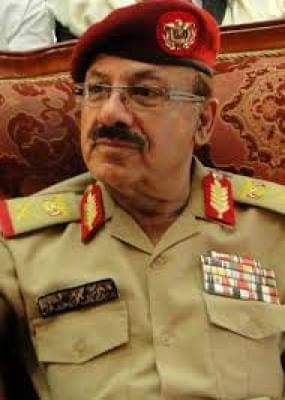 قائد قوات الأحزمة الأمنية يعزي في وفاة محمد راجح لبوزة